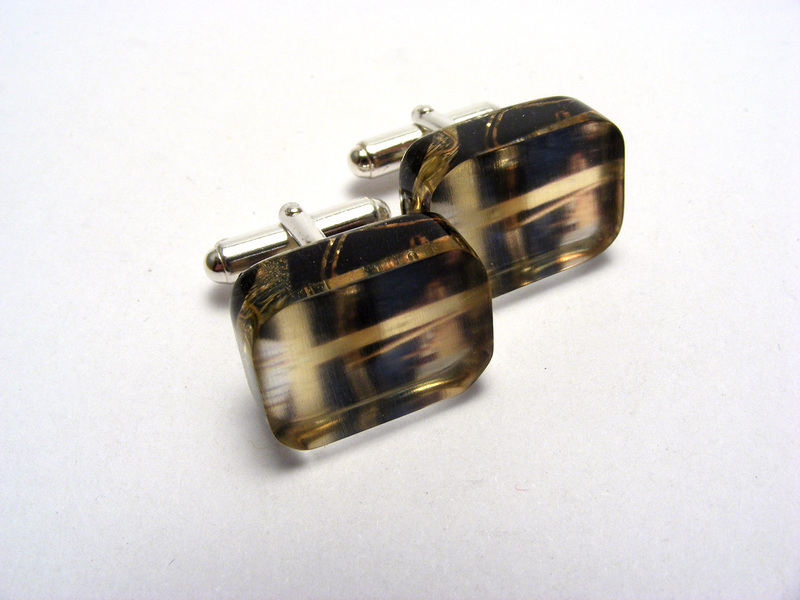 Manmade Close Crane Cufflinks