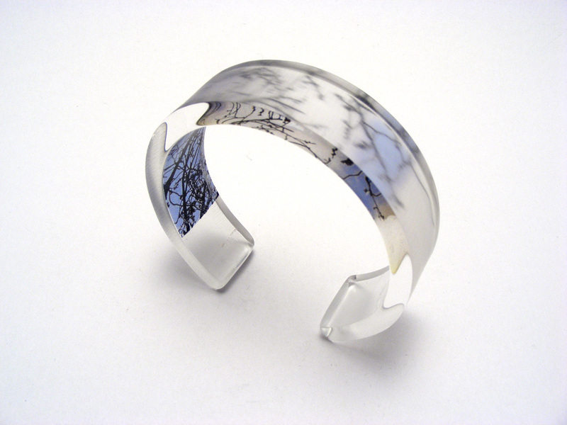 Look to the Sky Blue Spring 6x20 Bangle