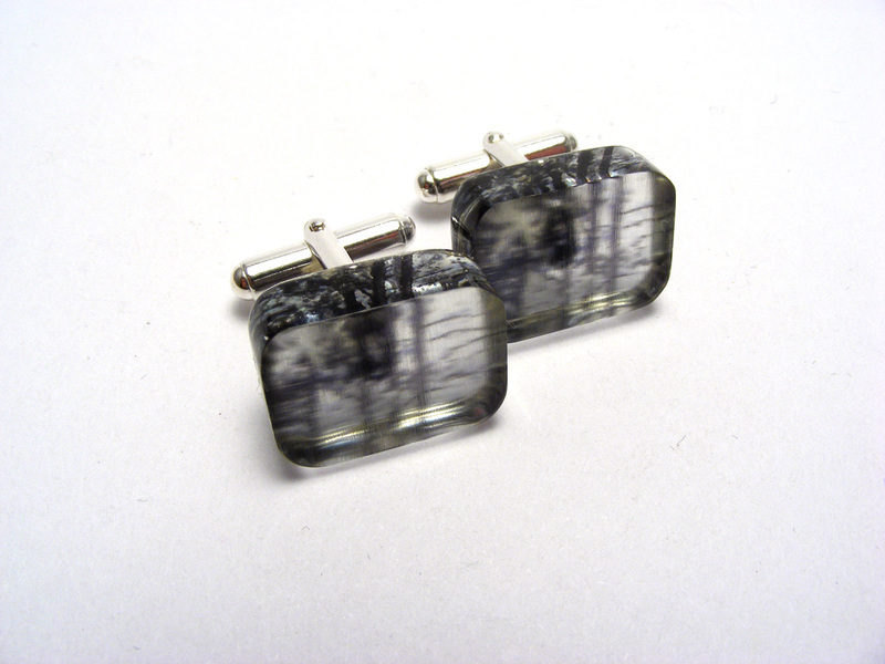 Look to the Sky Kilburn Forest cufflinks