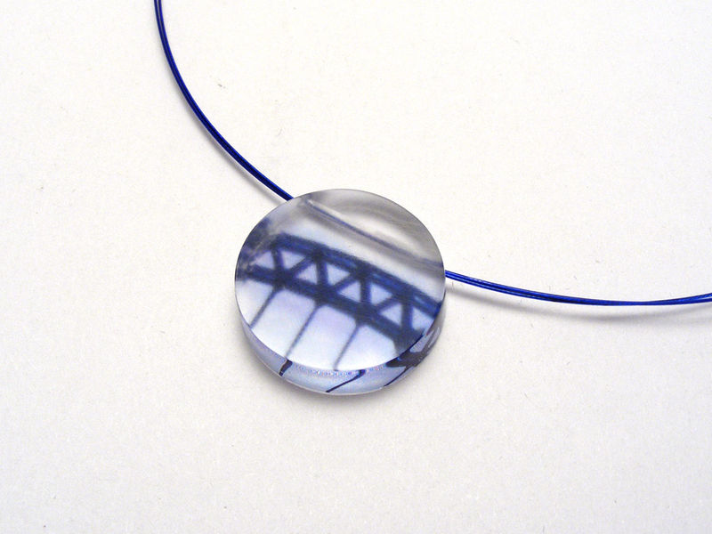 Manmade Circle pendant Bridges