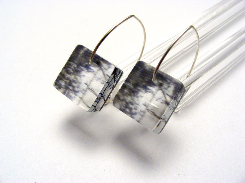 6mm sq kilburn forest earrings