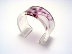Bold Blossom Purple Bangle 6x30