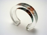 Natural Blossom 10x20mm bangle