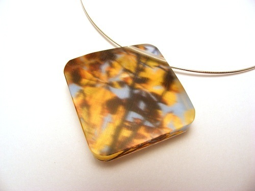 Horse Chestnut Leaves 10mm Large dia Pendant 1