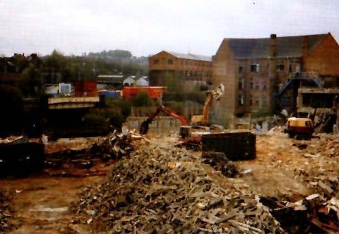 Complex Town Centre Demolition 2