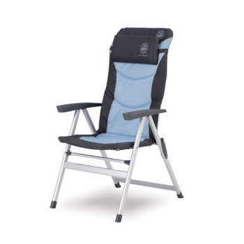 2x Walker Easy Chair Sentosa- Ice Blue and set of elastic tent rubbers delivered