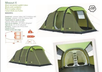 Trigano Missouri 4 Inflatable Tent