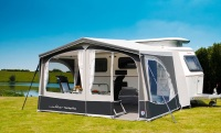 Walker Touring-Plus Awnings for Eriba Triton, with rain deflector, storms straps and awning carpet