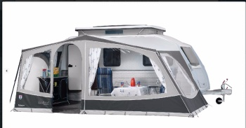 Walker Vision Awning for Kip Vision Caravans
