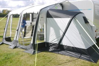 SunnCamp Ultima Air Annexe super Dlx BLUE