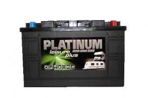 Platinum 100Ah Leisure Battery Low box