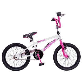 "Rooster Nemesis 18"" Wheel White/Neon Pink Freestyler"