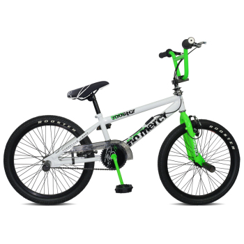 "Rooster No Mercy 20"" Wheel White/Neon Green Freestyler"