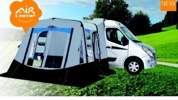 Trigano reciife XL inflatable motorhome awning
