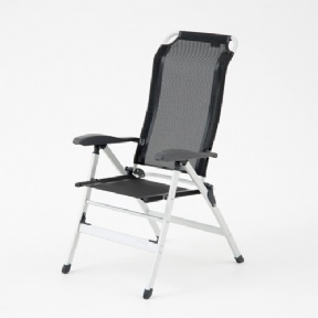 Samoa Chair, Black/Grey