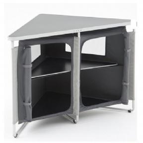 Folding Corner Cupboard 82x82x80cm 10kg
