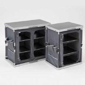 Folding DBLE Cupboard 84x50x81cm 10kg