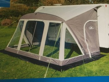 Sunncamp Super Swift Air 390 Porch