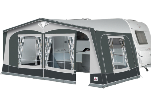 Size 13 Dorema Garda 240 Awning With 25mm Easygrip Steel Frame