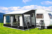 Walker Maxi 380 Porch Awnings with steel frame and storm straps