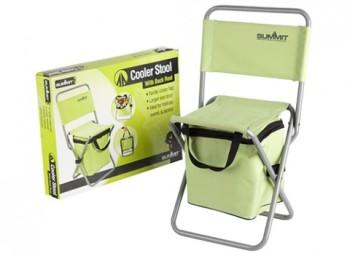 Picnic stool with cool bag