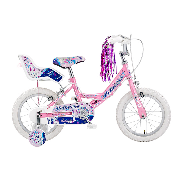 "CONCEPT PRINCESS GIRLS SINGLE SPEED, 12"" WHEEL, PINK"