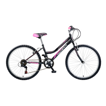 "CONCEPT DIAMOND GIRLS 18 SPEED, 24"" WHEEL, BLACK"