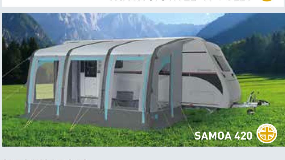 Trigano Samoa Aircamp 420 Porch awning