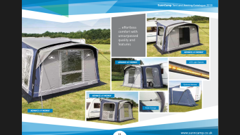 Sunncamp Advance Midway Air Awning