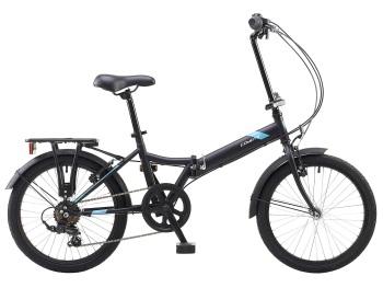 "Coyote Swift 20"" Unisex Matt Black Folding Bike"