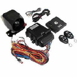 Caravan Alarm System with Remote Control 12V