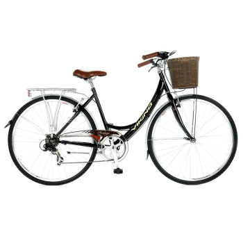 Viking Prelude Ladies Traditional 7 Speed Bike Black