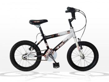 "Concept Fireblade Boys Single Speed, 16"" Wheel, Black/White"