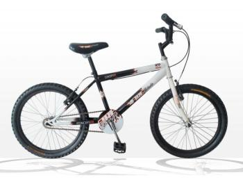 "Concept Fireblade Boys Single Speed, 20"" Wheel, Black/White"