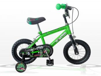 "Concept Little Monster Boys Single Speed, 12"" Wheel, Neon Green/Black"