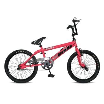 """Rooster Big Momma 20"""" Spoke Wheel Neon Pink Freestyler"""