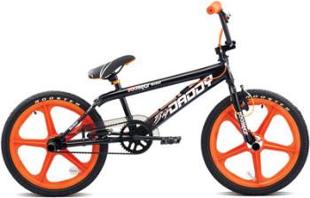 """Rooster Big Daddy 20"""" Orange SKYWAY Mag Wheels, Black Freestyler"""