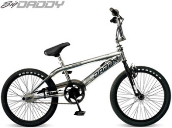 "Rooster Big Daddy 20"" Spoke Wheel Chrome Freestyler"