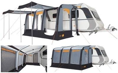 Trigano Luna Aircamp 390 Inflatable Caravan Porch Awnings