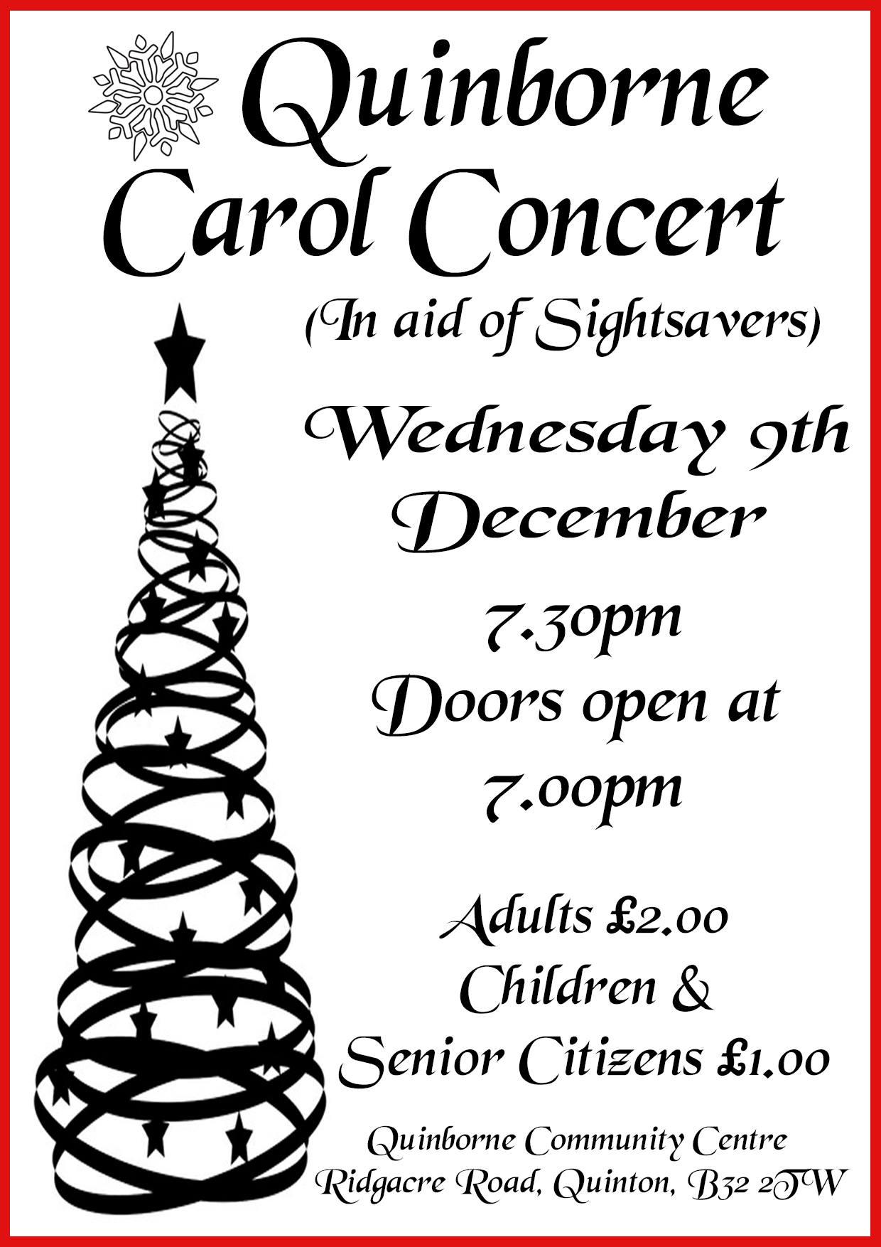 Carol Concert 2015