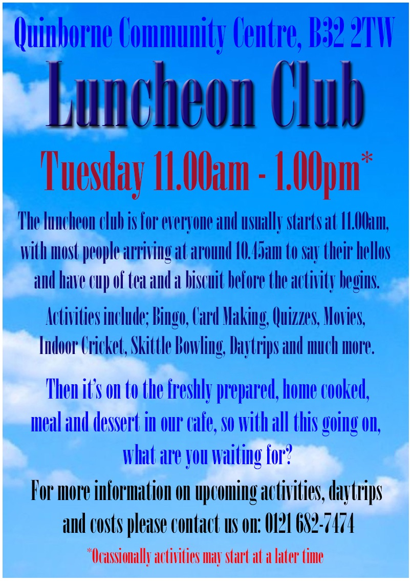 Luncheon Club