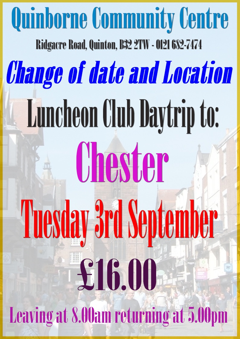 Luncheon Club Chester Good