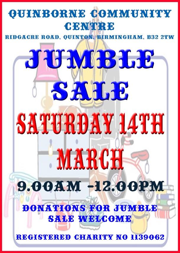 Jumble Sale 2020