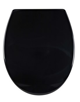 Aqualona Mainstream  Duroplast Toilet Seat Black