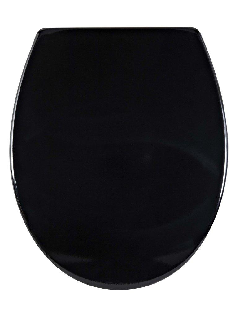 Aqualona Mainstrem  Duroplast Toilet Seat Balck