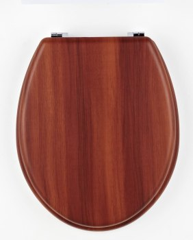Antique Pine MDF Toilet Seat
