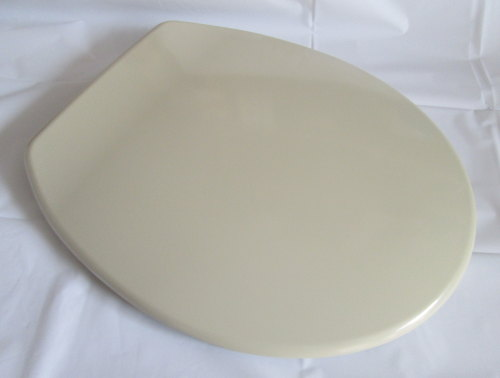 Champagne Colour Duroplast Toilet seat with Chrome Hinge