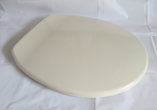 Soft Cream Colour Tecnoplast Plastic Toilet seat