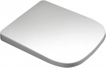 Euroshowers V20 White Toilet Seat with Slow Close Hinge