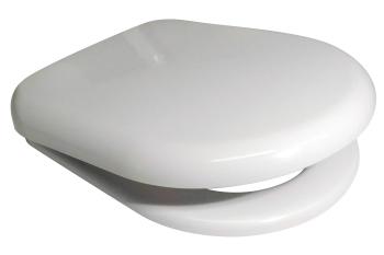 Euroshowers  PP D  Range Toilet Seat in white